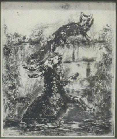 58: Marc Chagall (1887-1985), Fables de La Fontaine