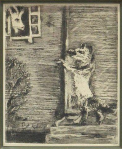 59: Marc Chagall (1887-1985), Fables de La Fontaine
