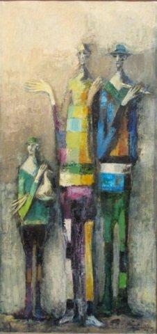 60: David ADICKES, untitled, 1958