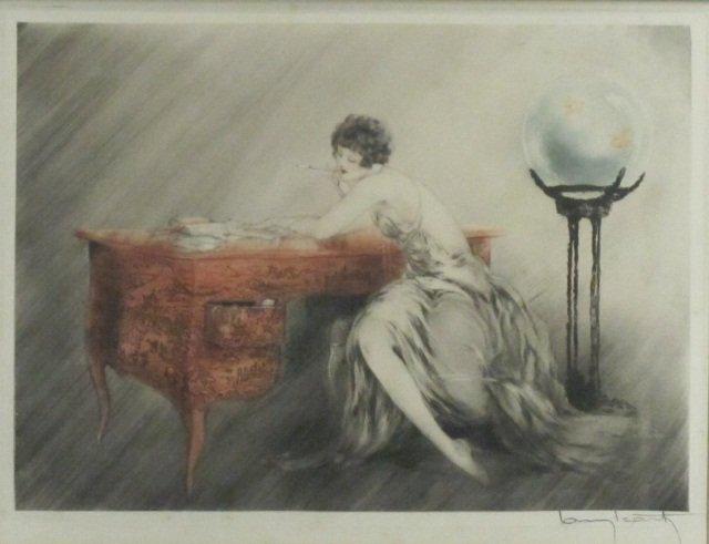 """68: Louis ICART (1888-1950), """"Dans le Passe"""""""