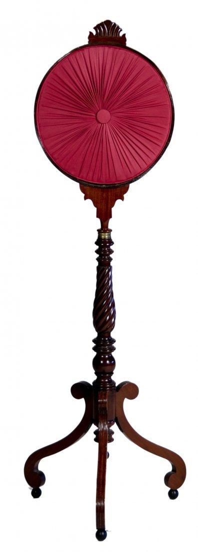 18: Mahogany Sheraton Polescreen