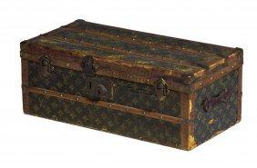 Louis Vuitton Jewelry Box / Miniature Steam Trunk