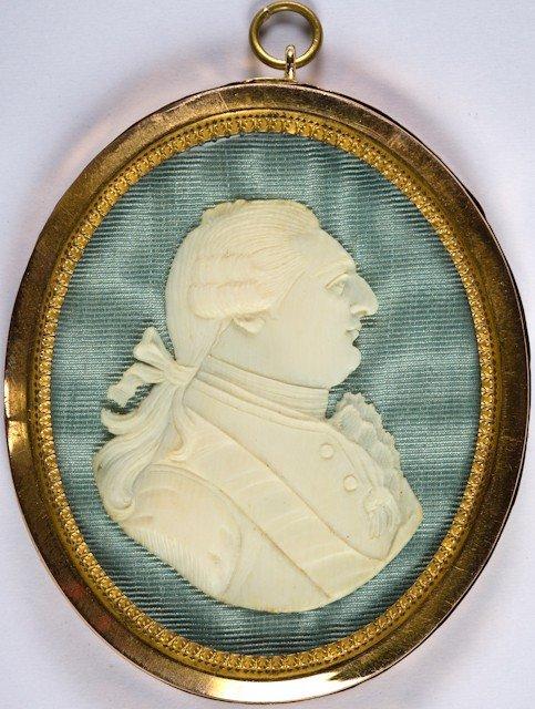 14: Louis XVI, roi de France. Médaillon pendentif, sous