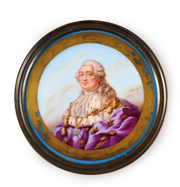 18: Louis XVI, roi de France. Grand médaillon à suspend