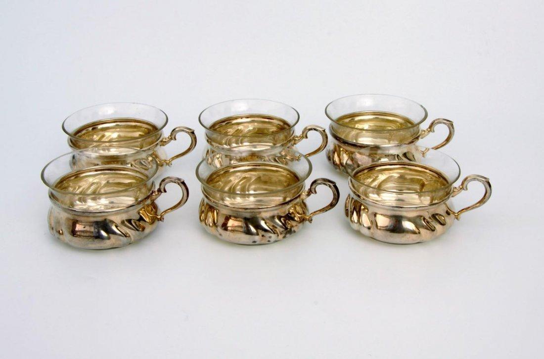 14: Sechs Teegläser 50er Jahre