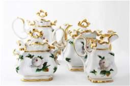 191: Vierteiliges Kaffee/Tee Service