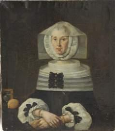 652: Porträt einer vornehmen Dame  16./17. Jh.