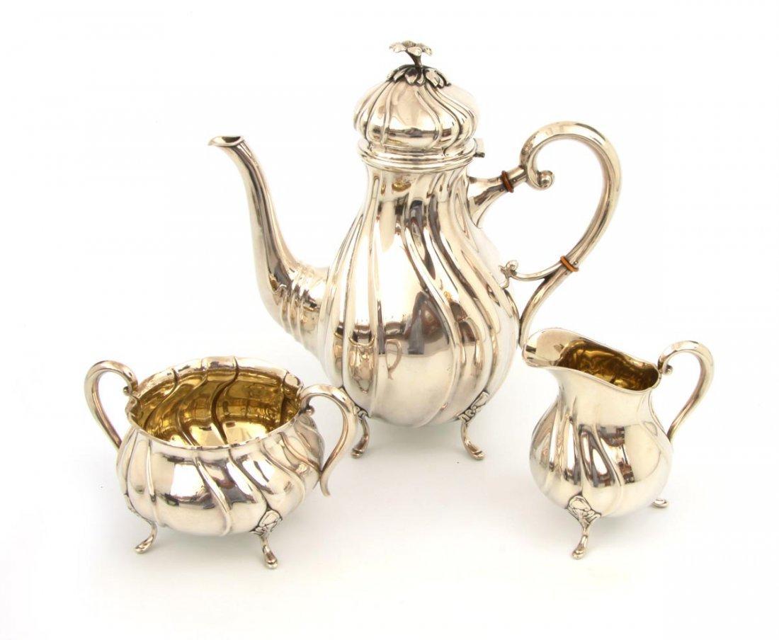 21: Dreiteiliges Kaffeeset  Gran & Laglye