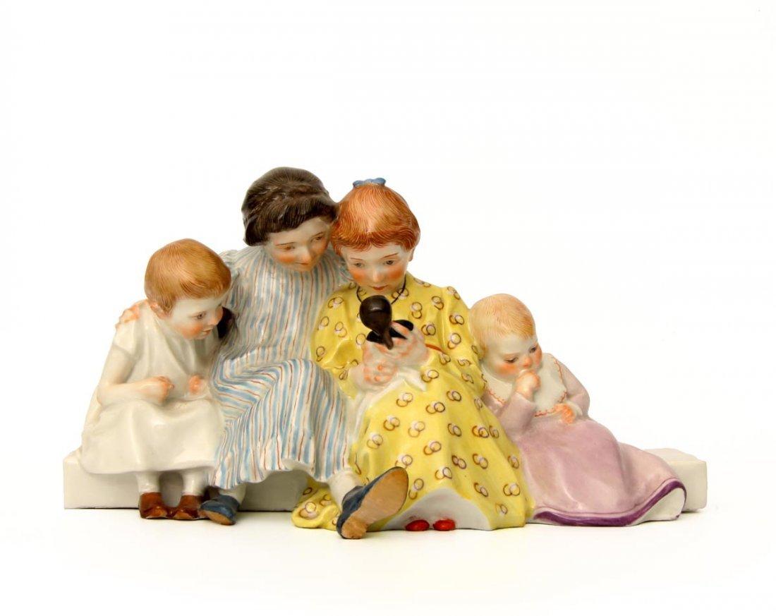 Hentschel Kindergruppe  Meissen 1906