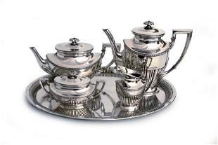Fünfteiliges Kaffee-Tee-Set, Berlin nach 1888
