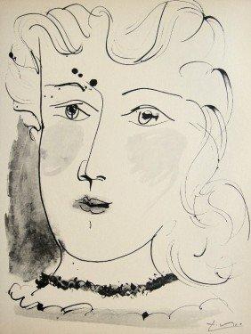 16: PABLO PICASSO, Signed Original Lithograph, Buffon,