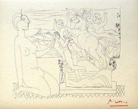 21: Pablo PICASSO; Suite Vollard; Modèle contemplant un