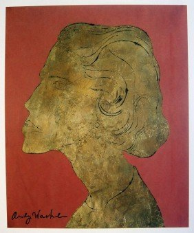 22: ANDY WARHOL, Special Print hand signed, 1982