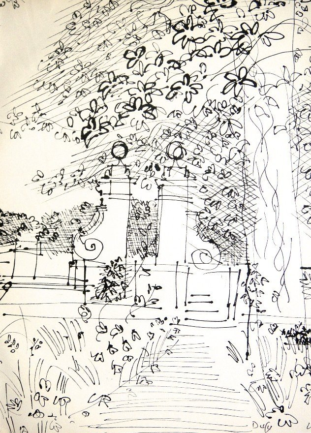 24: RAOUL DUFY, Original Lithograph hand signed