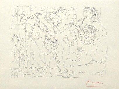2: Pablo PICASSO; Suite Vollard; Le Repos du Sculpteur