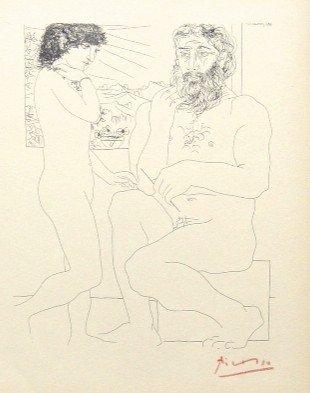 18: Pablo PICASSO; Suite Vollard; Sculpteur et Modèle d
