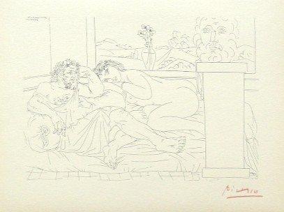 19: Pablo PICASSO; Suite Vollard; Le Repos du Sculpteur