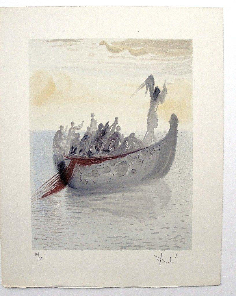 "21: ""Salvador DALI; Original Woodcut - Signed and numbe"