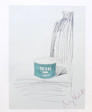 23: ANDY WARHOL, Special Print hand signed, 1982