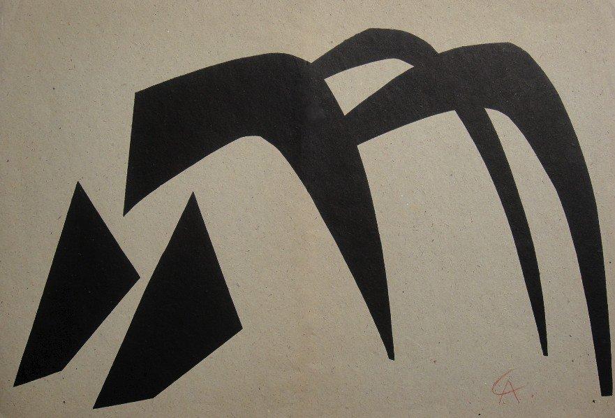 13: ALEXANDER CALDER, Signed Lithograph