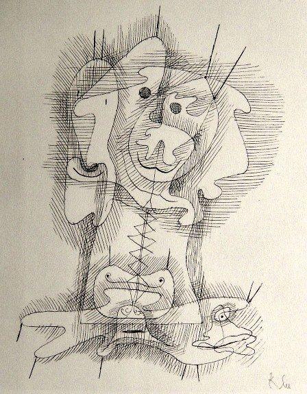 80: Paul KLEE; Original Lithograph.