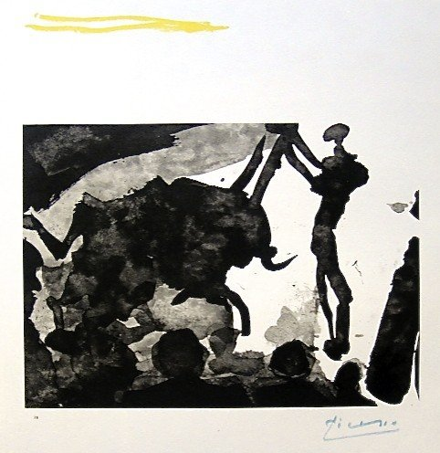 94: PABLO PICASSO, Hand Signed Lithograph, The Children