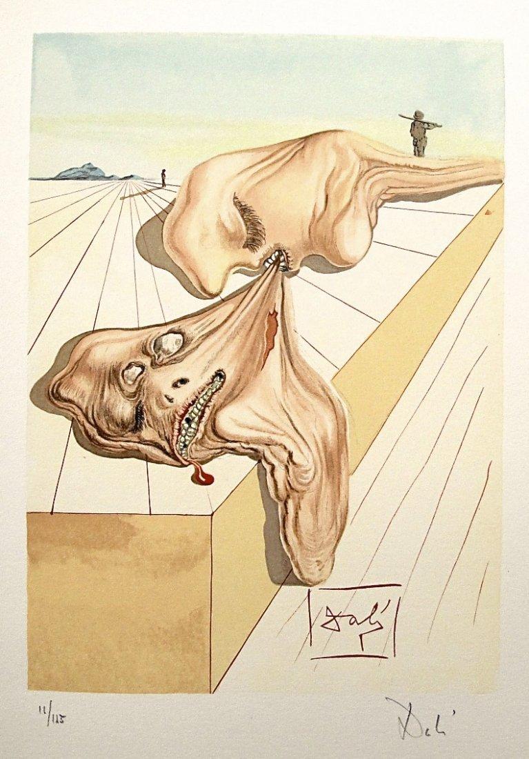 "78: ""Salvador DALI; Original Woodcut - Signed and numbe"