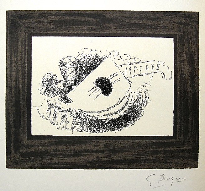 89: GEORGES BRAQUE, Signed Lithograph, 1963