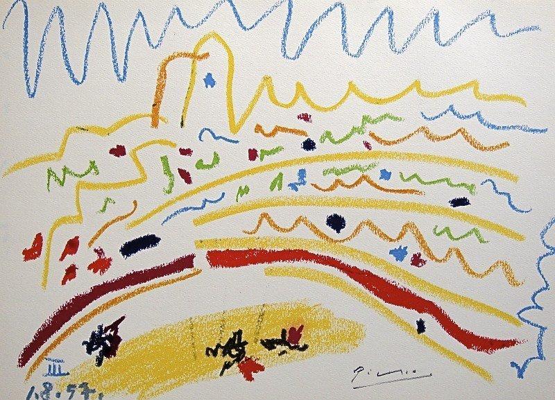 22: PABLO PICASSO, TOROS Y TOREROS, 1957