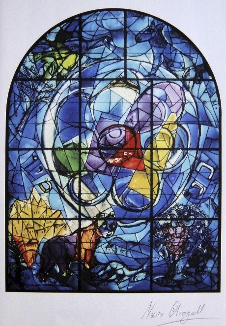 54: MARC CHAGALL, Signed Lithograph, Jewels for a Crown