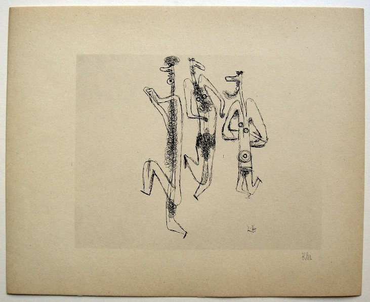 9: Paul KLEE; Original Lithograph, 1934