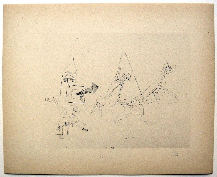 23: Paul KLEE; Original Lithograph, 1934