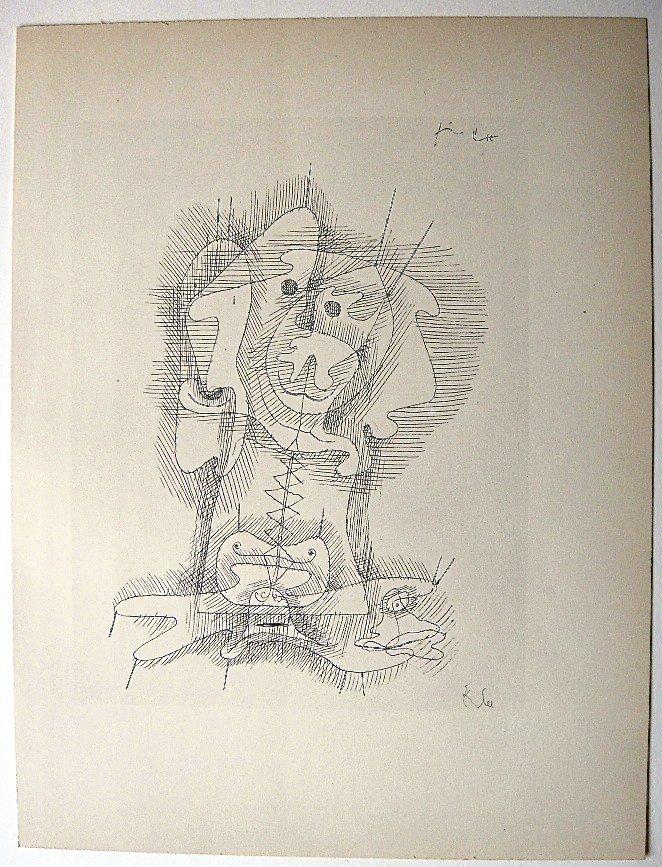 24: Paul KLEE; Original Lithograph, 1934