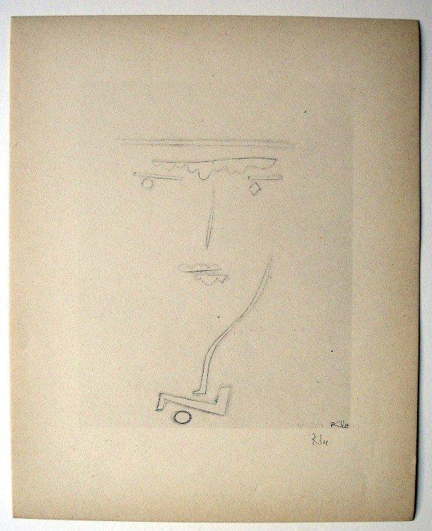 49: Paul KLEE; Original Lithograph, 1934