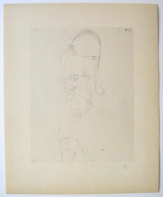 67: Paul KLEE; Original Lithograph, 1934