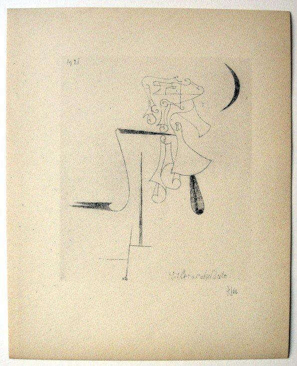 68: Paul KLEE; Original Lithograph, 1934