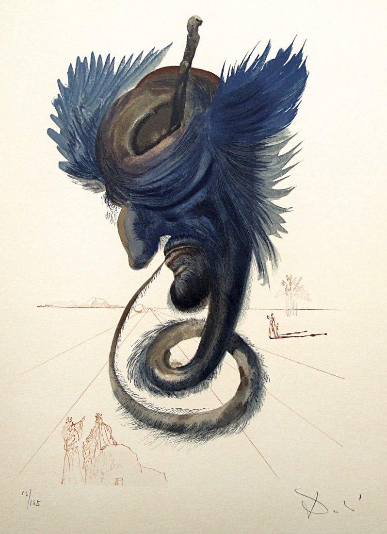 18: Salvador DALI; Original Woodcut - Signed and number