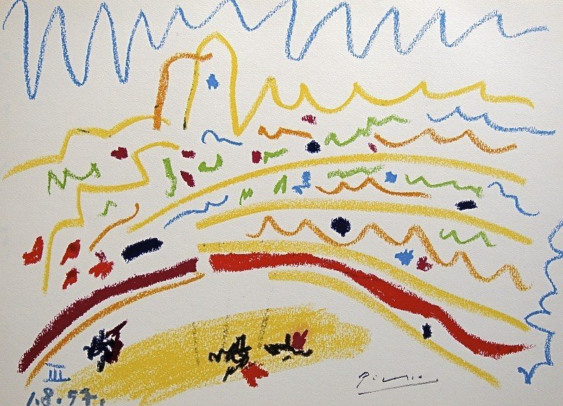 16: PABLO PICASSO, TOROS Y TOREROS, 1957