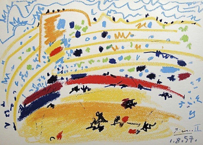 17: PABLO PICASSO, TOROS Y TOREROS, 1957