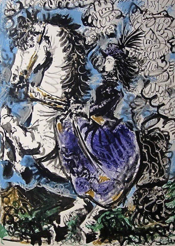 64: PABLO PICASSO, TOROS Y TOREROS, 1957