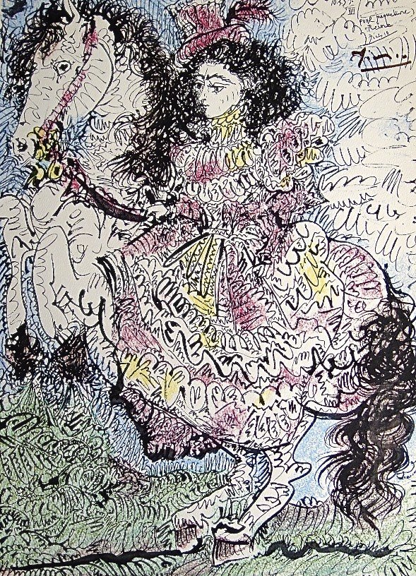 66: PABLO PICASSO, TOROS Y TOREROS, 1957