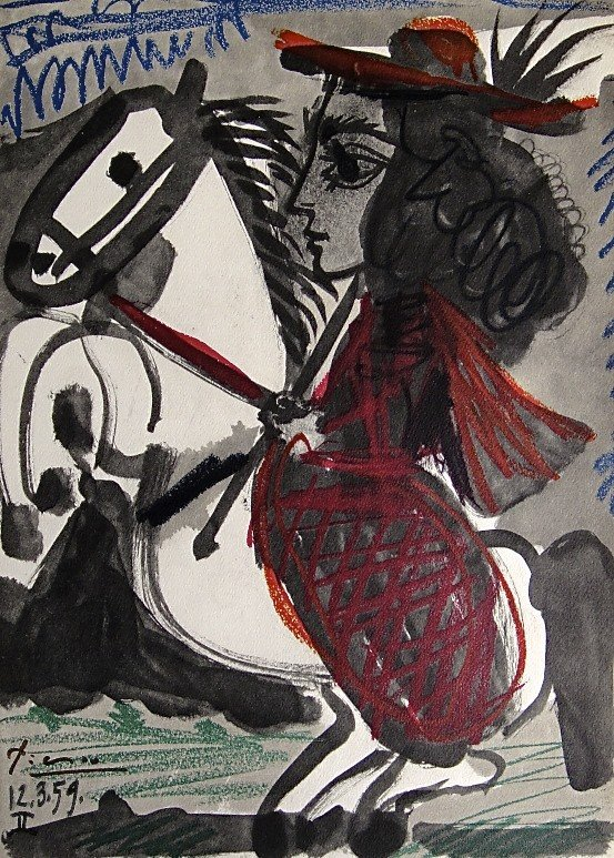 1: PABLO PICASSO, TOROS Y TOREROS, 1957