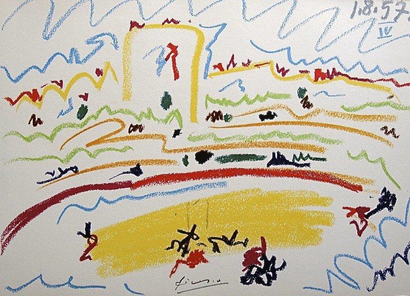 23: PABLO PICASSO, TOROS Y TOREROS, 1957