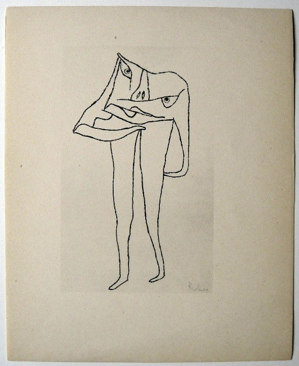 Paul KLEE, Signed original Lithograph, 1934
