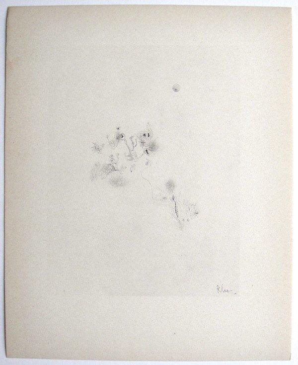 Paul KLEE, Signed original Lithograph, 1934