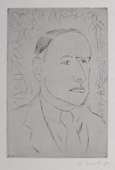 HENRI MATISSE, Signed Lithograph, 1951 - 1952
