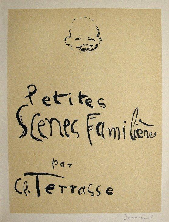 PIERRE BONNARD, Signed Lithograph 1942
