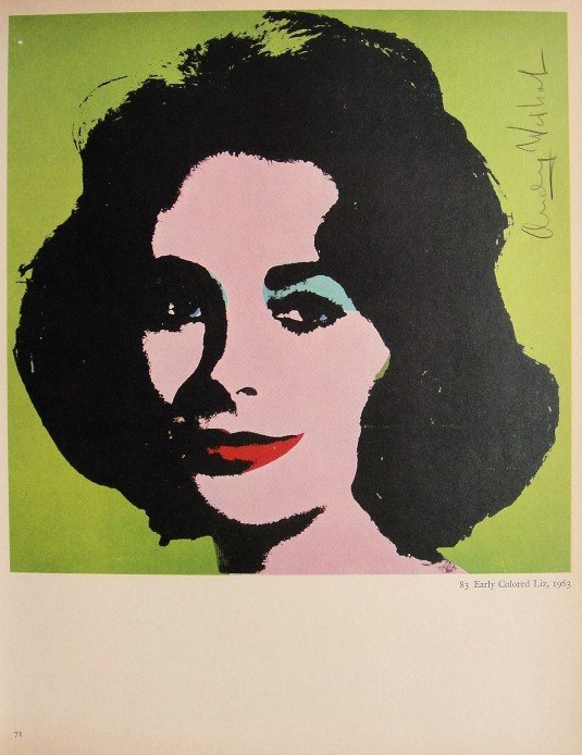 ANDY WARHOL, Signed Special Print, 1965