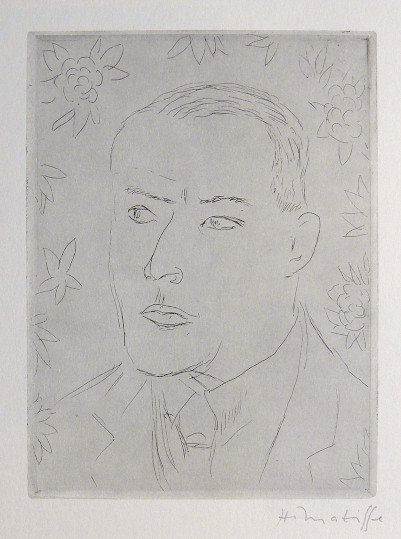 HENRI MATISSE, Signed Lithograph, 1951 - 1952