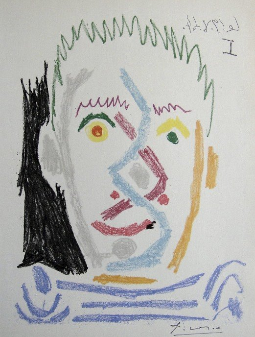 Pablo Picasso, hand signed Lithographs, 1966